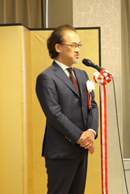 平成26年度大山激励賞受賞の岩田 雅裕氏